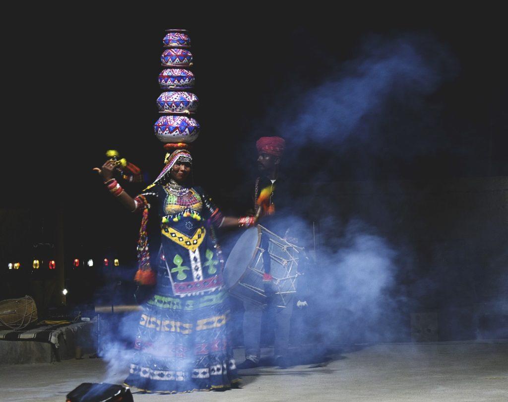 TTV Sam Sand Dunes Folk Dance