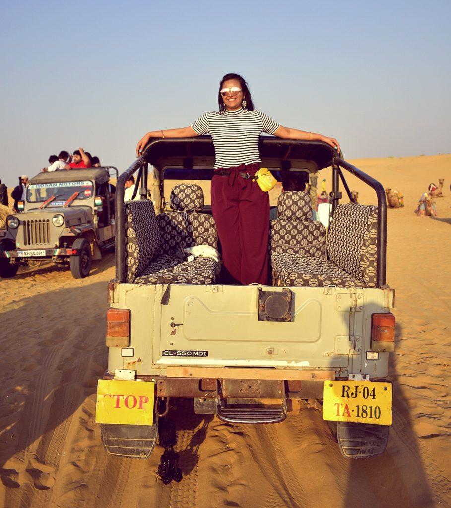 TTV Jeep Safari Sam Sand Dunes