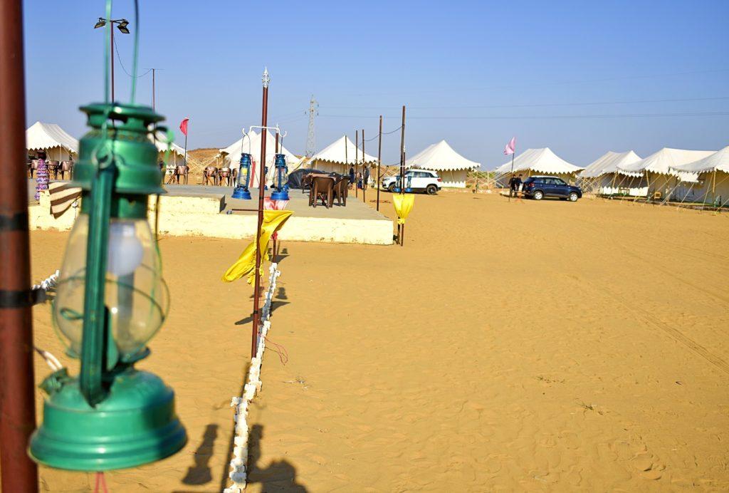 TTV Bhati Desert Camp Inside