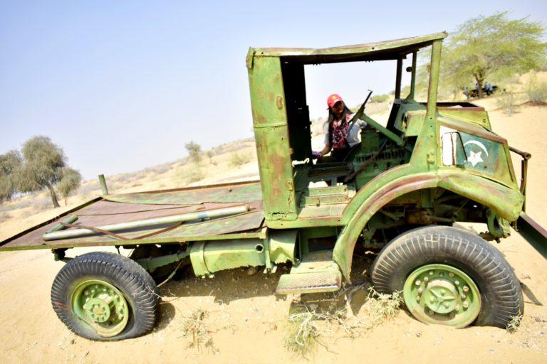 TTV Destroyed Vehicle