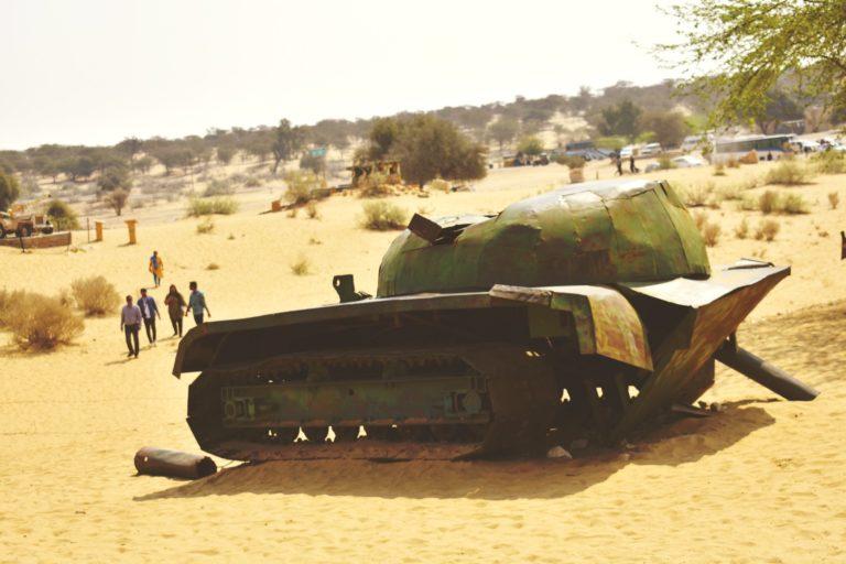 TTV Laungewala Destroyed Tank