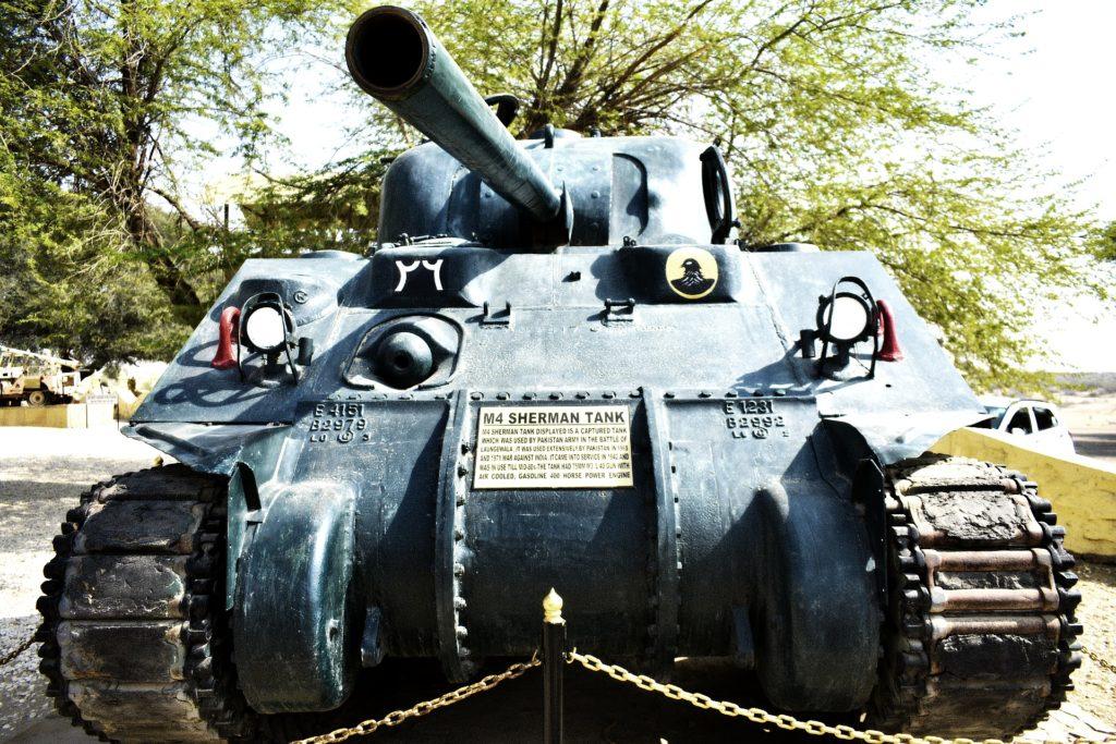 TTV Laungewala Sherman Tanks