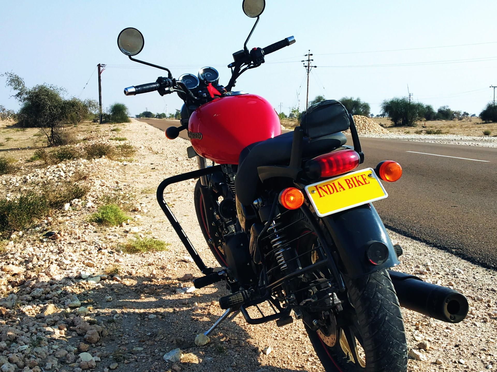 TTV Rented Bike