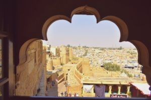 Jaisalmer Fort View From Queens Palace