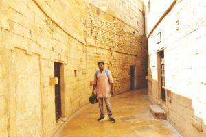 Me at Jaisalmer Fort