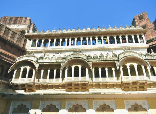 Mehrangarh Fort inside