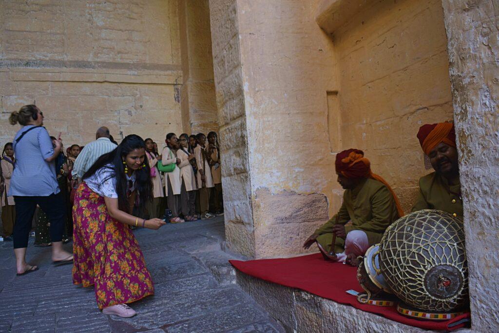 Mehrangarh Fort Traditional Artist